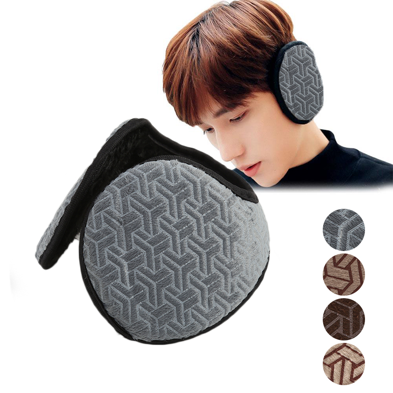 Beautiful Winter Colorful Ear Lap Muff Warm New Ear Muffs Ear Earwarmer A Cute Lovely Soft Winter Man's Warm Earmuffs Solid
