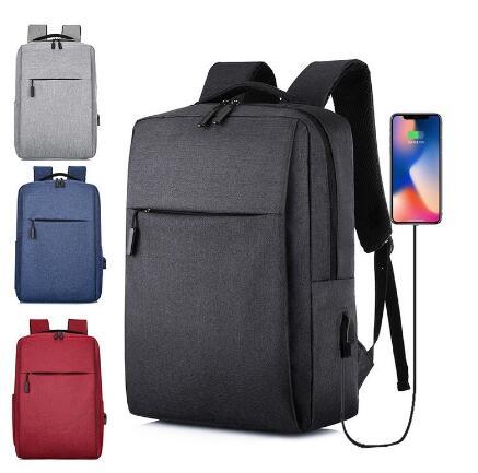 Hot New Usb Laptop Backpack 2019 Business Large Capacity Backpack Men Computer School Bag Travel Bagpack Student Bag
