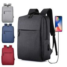 Hot new Usb Laptop Backpack 2019 Business Large Capacity Backpack Men Computer S