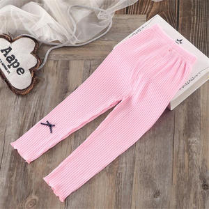 Infant Trousers Leggings Girls Pants Toddler Baby Princess Children Bow Thin
