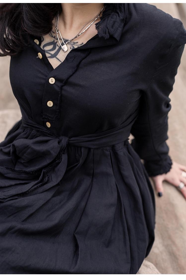 New Fashion Style Sash Full Sleeve Long Back Design Ladies Stylish Tunic Dress Fashion Nova Clothing