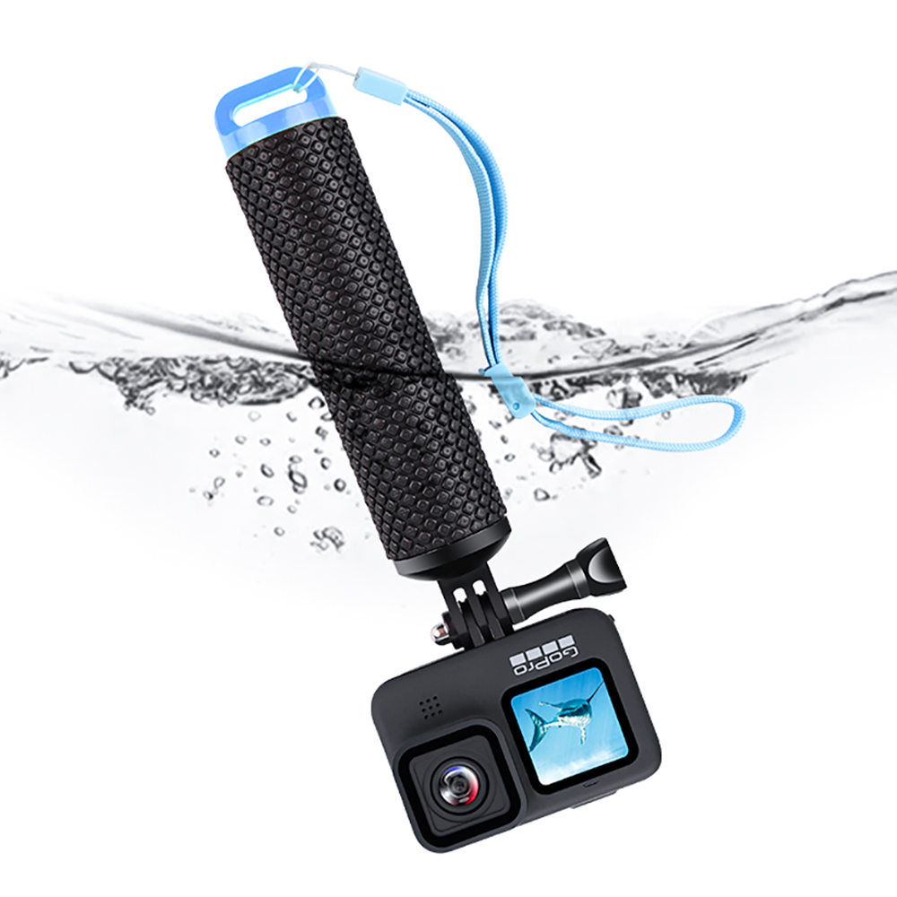 Water Floating Hand Grip Handle Mount Float accessories for Go Pro Gopro Hero 9 8 7 6 5 4 Xiaomi Yi 4K SJ4000 Action Camera-0