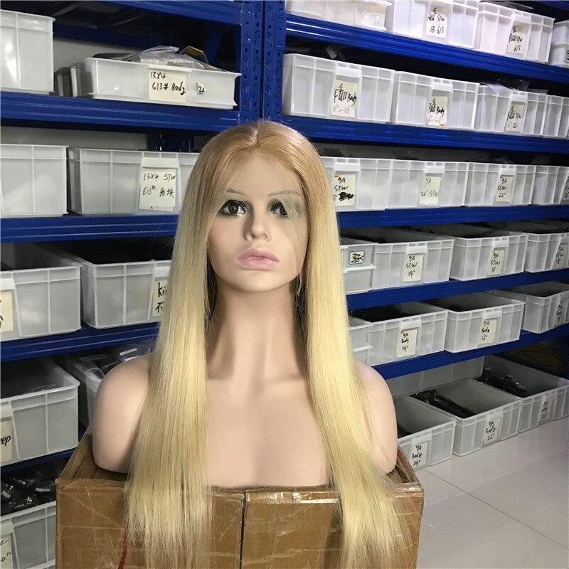 Td 13x4 perucas transparentes da parte dianteira