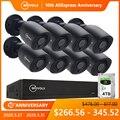 Güvenlik ve Koruma'ten Gözetim Sistemi'de MOVOLS 5MP HD güvenlik kamera sistemi 8CH H.265 DVR açık kapalı video gözetim kiti gece görüş su geçirmez CCTV sistemi