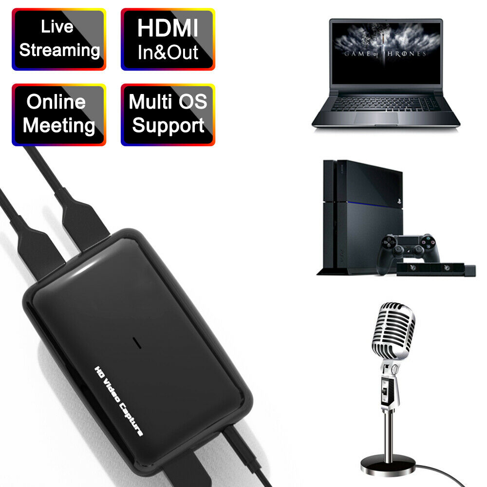 Original Ezcap 287 287P 261 266 Upgrade to 301 4K HD 1080P 60fps Video Capture Card HDMI to USB 3.0 Live Streaming Recording Box - 4