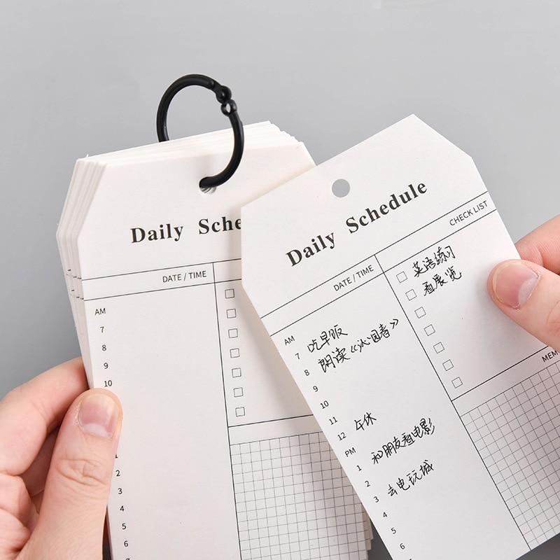 Notebook Daily Planner Sketchbook Caderno Defter Libretas Y Cuadernos Planner Agenda 2019 2020 Cahier Notepad Zeszyt Fichario