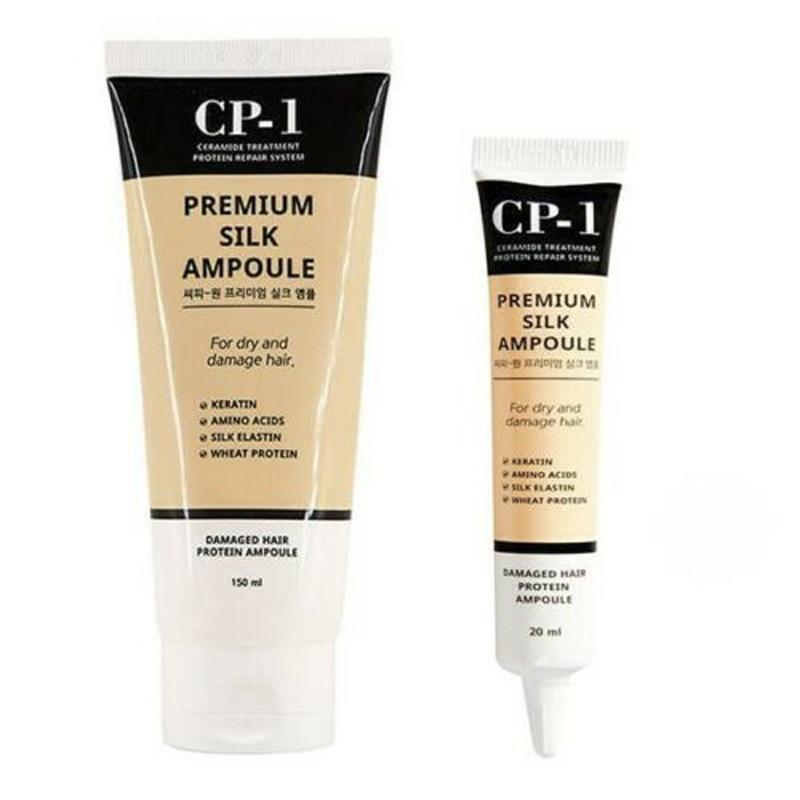 CP-1 Premium Silk Ampoule 1pcs Hair & Scalp Keratin Treatment Essence Damage Repair Perfect Hair Fill-Up Protein Anti Hair Loss