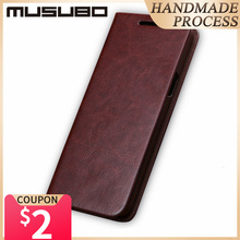 Musubo יוקרה עור מקרה כיסוי לסמסונג גלקסי S20 S10 S9 בתוספת S8 בתוספת S7 קצה הערה 10 9 מארז flip ארנק כרטיס Solt קאפה