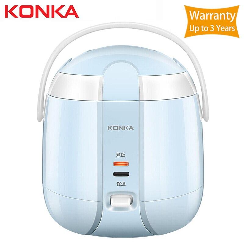 KONKA 1.2L cuiseur à riz électrique cuisine Mini cuiseur petit cuiseur à riz Machine intelligente affichage de LED de rendez-vous