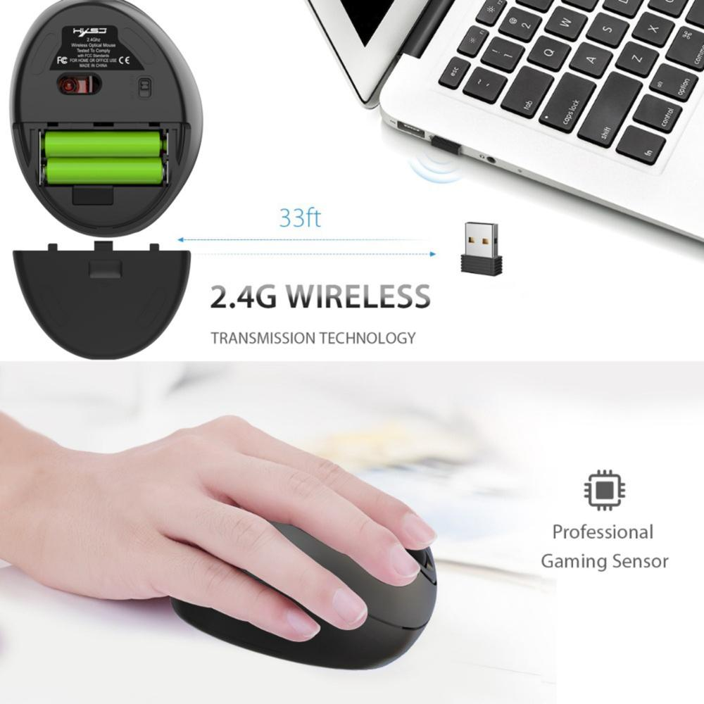 Ergonomic Mouse Rechargeable Wireless Mause Gamer KIT USB 7 Key Vertical Gaming Mouse For PC Laptop Computer Desktop Notebook mi