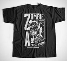 Newest 2019 Men Fashion  T-Shirt 1495 Zombie Apokalypse Walking Death Horror Survivor Dawn of The Summer Style