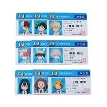 Anime My Hero Academia Cosplay Prop Accessories Student Teacher ID Cards