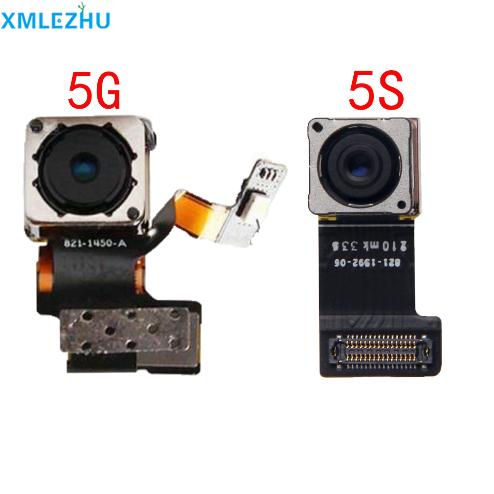 10Pcs Back Rear Camera For iPhone 5S 5 5G 5C Big Camera Flex Cable with Focusing High Quality Replacement Free Shipping image