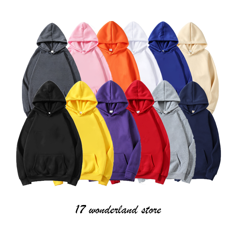 Hoodies Men Women Spring Autumn Male Casual Travis Scott Men's Solid Color Hoodies Sweatshirt Tops One Piece Oversized Moletom