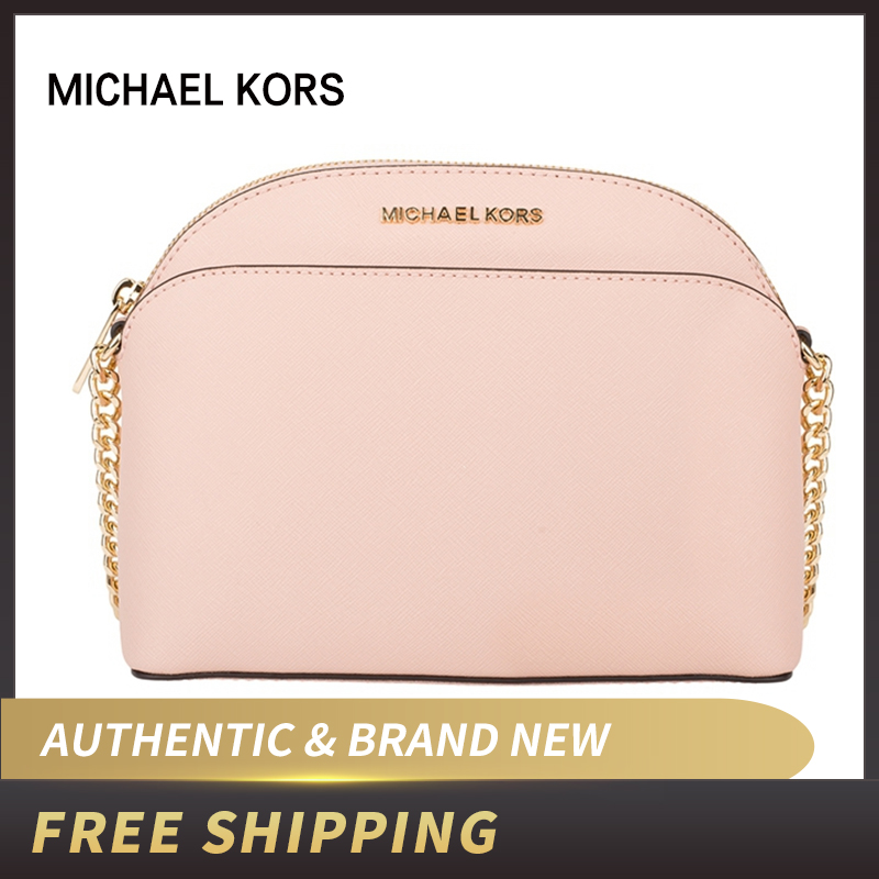 Authentic Original & Brand New Michael Kors Saffiano Leather Emmy Medium Crossbody Women's Bag 35H7GY3C2L/35T8GY3C2A/35S9GTVC2L