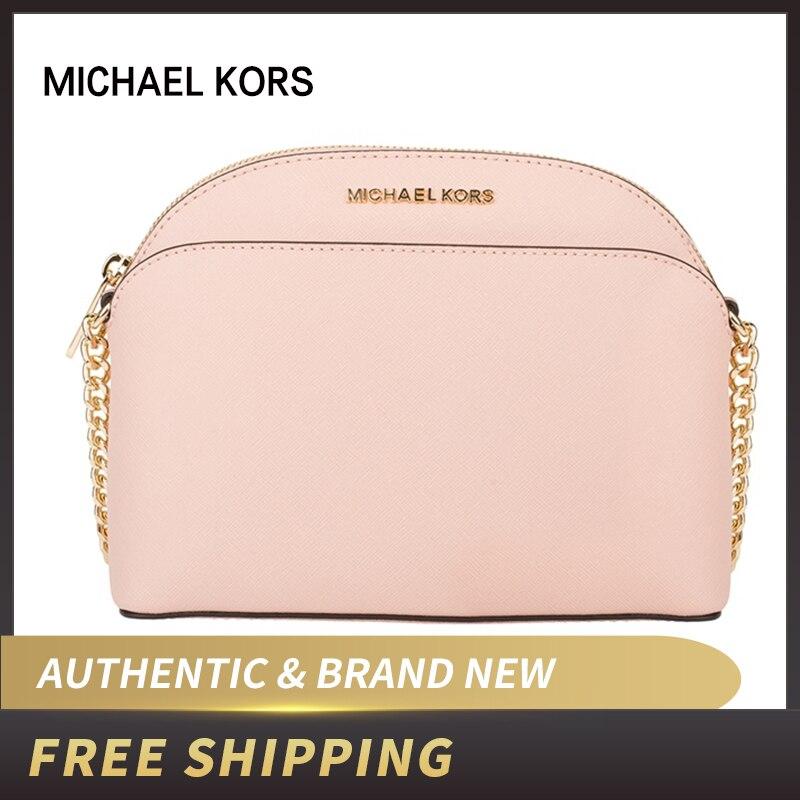 Authentic Original & Brand new Michael Kors Saffiano Leather Emmy Medium  Crossbody Women's Bag 35H7GY3C2L/35T8GY3C2A/35S9GTVC2L