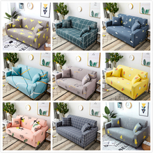 Universal Stretch Plaid Sofa Covers for Living Room Non-Slip Couch Slipcover Elastic Spandex Cover for Funda Sofa Chaise Lounge floor foldable couches for living room multinational reclining chaise lounge day bed modern japanese couch sofa set for sale
