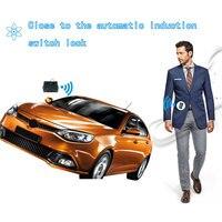 Início automático app móvel sistema de alarme do carro bloqueio central universal inteligente app abertura tronco automático para carros veículo peça de reposição