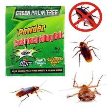 1 шт. зеленый лист приманка для уничтожения тараканов порошок отпугиватель тараканов убийца ловушка против вредителей тараканов порошок Эффективная борьба с вредителями