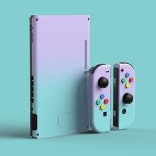 Joycon Shell-funda protectora de Color degradado para Joy Con, carcasa completa para consola Nintendo Switch