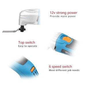 Image 5 - NEWONE Kit de herramientas oscilantes multifunción eléctricas, 120V/220V, 300W, renovador, herramienta múltiple, recortador eléctrico, accesorios de sierra