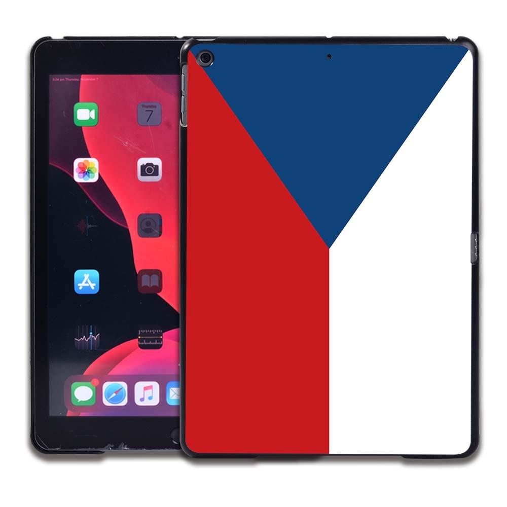 15.Czech flag Navy Tablet Hard Back for Apple IPad 8 2020 8th Gen 10 2 A2270 A2428 Z2429 Z2430