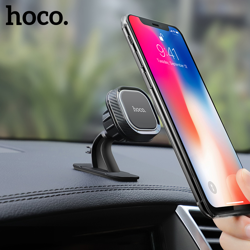 HOCO Universal Car Phone Holder Magnetic Air Vent Mount For IPhone X XS Max Samsung S10 Xiaomi Magnet Mount 360 Degree Rotation
