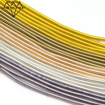 Nici do haftowania miedziany drut twardy do haftu odznaka mata ręcznie robiona biżuteria łatki DIY ubrania broszka akcesoria do szycia tanie i dobre opinie CN (pochodzenie) BARWIONE 100 jedwabiu Ścieg krzyżykowy Żyłka Elastyczna Hard Wire Copper 10g bag
