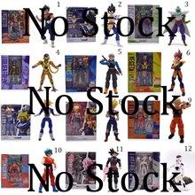 купить 12 Styles Anime Dragon ball Z SHF Figuarts Son Goku Trunks Frieza Vegeta Krillin Zamasu Piccolo PVC Action Figure Model DIY Toy по цене 925.29 рублей