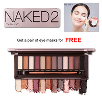 NK 2 Pro 12 Colors Matte Shimmer Nude Makeup Set Pallete Eyeshadow Palette Balm Pigment Eye shadow Cosmetic Gift