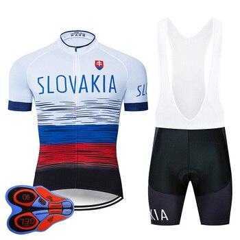 2020, Ropa de Ciclismo de Eslovaquia, conjunto 9D, Jersey MTB, Ropa de...