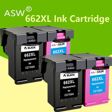 ASW 662 Substituto para HP662 662XL Cartucho de Tinta para Impressora HP Deskjet 1015 1515 2515 2545 2645 3545 4510 4515 4516 4518 printer