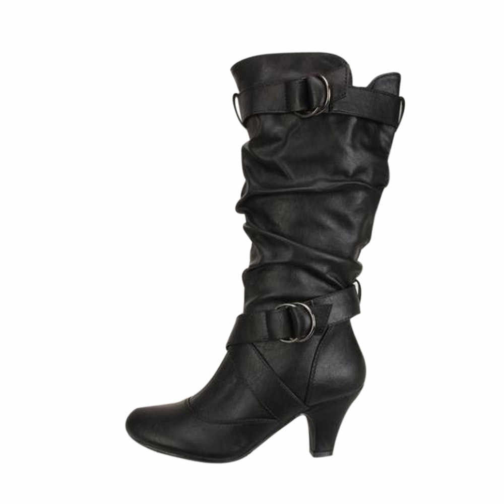 Plus size 48 Thigh High Boots Women Fashion over the knee Boots Sexy Platform High Heels Ladies Nightclub Party Shoe Woman #YL5