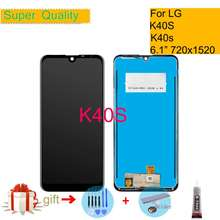 Original 6.1″ For LG K40S LCD Display Monitor Touch Screen Digitizer K40s LCD Assembly Complete Replacement