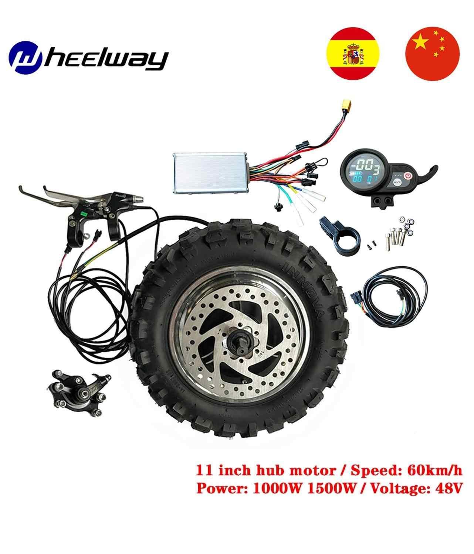 11 inch 48V 1000W 1500W rad motor kit LY motor elektrische getriebelose motor 60 km/h elektrische kit fett Off road Grobe Reifen