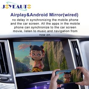 Image 3 - Joyeauto ไร้สาย Apple CarPlay สำหรับ Infiniti 8 นิ้ว 2015 2019 Q50 Q60 Q50L QX50 Android Auto Car Play วิดีโอ อินเทอร์เฟซ