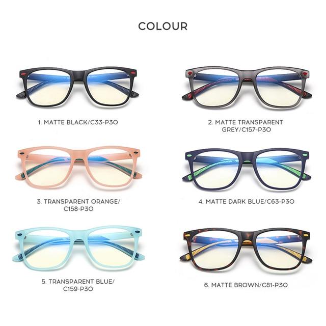Купить детские оптические очки анти синий светильник для детей близорукость картинки цена
