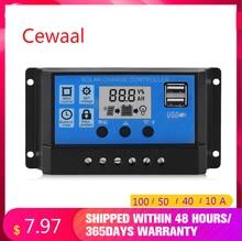 5V/12V18V 20W/60W DC USB Solar Panel RV Car Charger Cell High Efficiency Solar Battery 10A/40A/50A/100A Solar System Controller