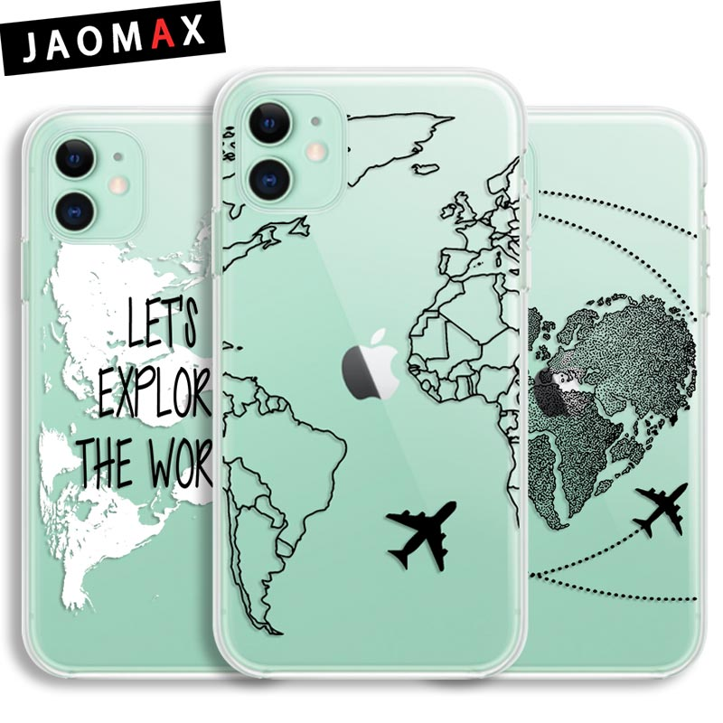 Maps - Circle Print iPhone 11 case