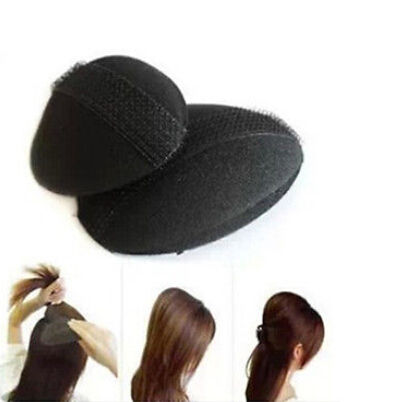 Hair Bump It Up Volume Hair Base Barrettes Inserts Beehive NEW Design Sponge Hair Bun Maker Pad Styling Accessories