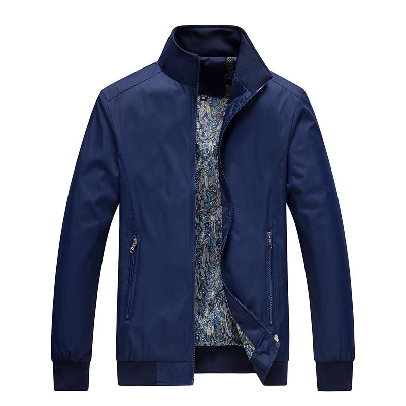 MANTLCONX M-5XL Casual Jacket Men 2019 Spring Autumn Fashion Men's Thin Jackets Male Coat Men Spring Outwear Work Jacket For Men