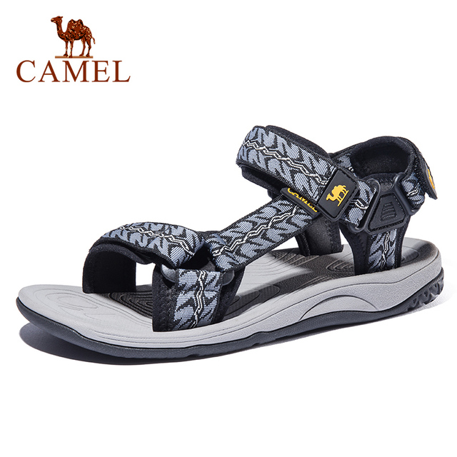 CAMEL Men's Sandal New Wading Men Shoes Lightweight Breathable Non-slip Outdoor Sandals Beach Shoes Sandals Men Summer Hiking 1
