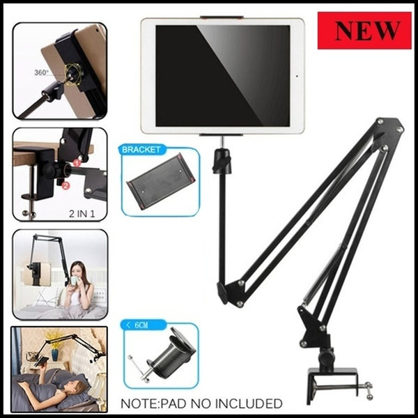 Adjustable Mobile Phone Holder For 4-11 inch Tablet Phone Long Arm Bed Desk Stand Phone Mount Mobile Support Holder Stand