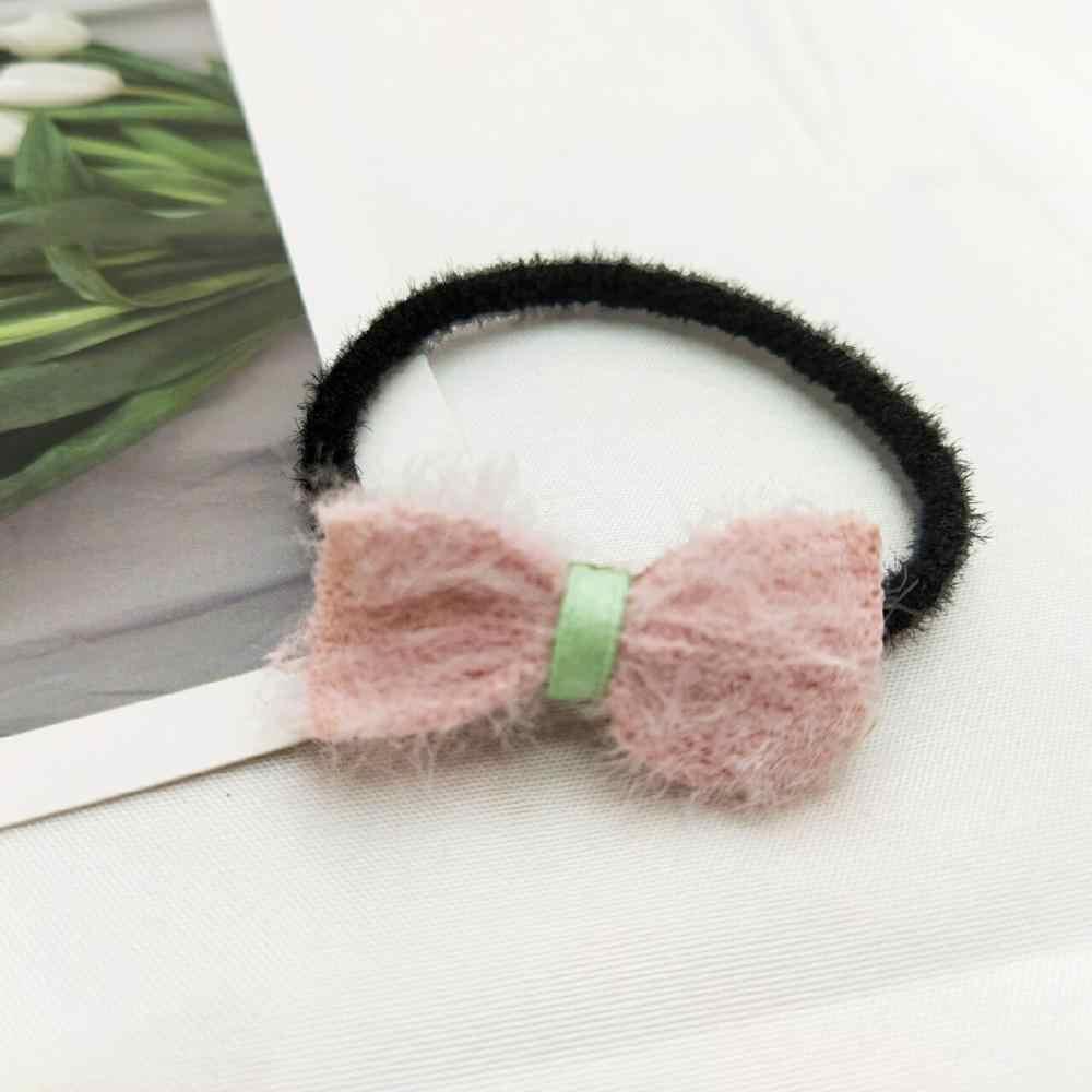 1 pçs bonito orelhas de gato bandana macio pelúcia lavagem maquiagem acessórios para o cabelo da moda meninas festa aniversário estilo ferramentas headwear