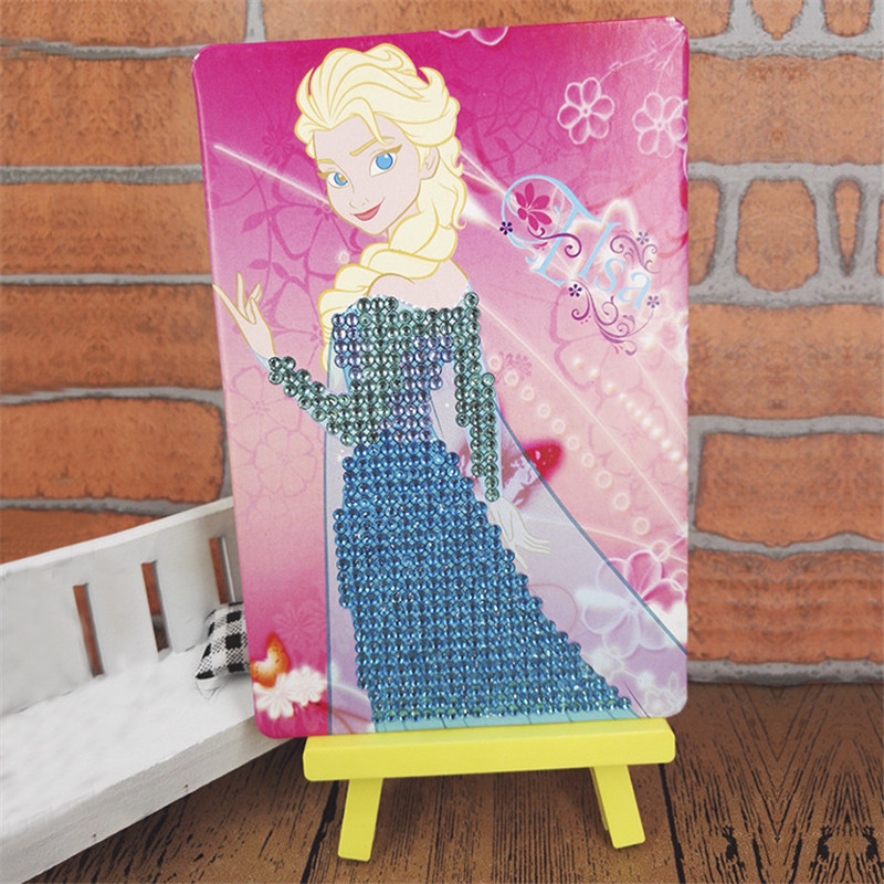 Children Craft Toys DIY Creative Cartoon Mosaic Diamond Painting Girls Toys 3D Puzzle Funny Educational Toys For Children SG2