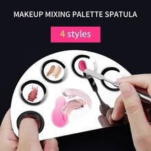 YALIAO Makeup Mixing Palette With Spatula Cosmetic Nail Tool Professional Salon Manicure Foundation Make Up