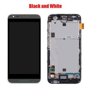 Image 4 - Dành Cho HTC Desire 620 620U 620T 620G Màn Hình LCD Màn Hình Với Ốp Mặt Trước Mặt Kính Cảm Ứng, d620h Màn Hình LCD Hiển Thị Ban Đầu Đen Trắng