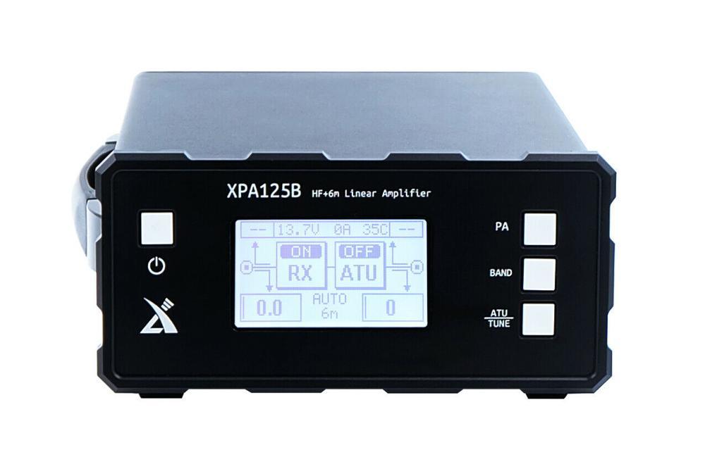 2020 Original Xiegu XPA125B 100W HF Power Amplifier + Auto Tuner ATU For X5105 X108G G1M G90