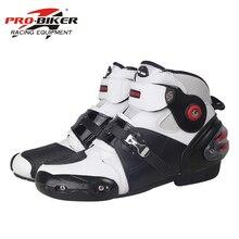 Ботинки в байкерском стиле; ботинки для гонок; кожаные ботинки в байкерском стиле; безопасная обувь для беговых прогулок