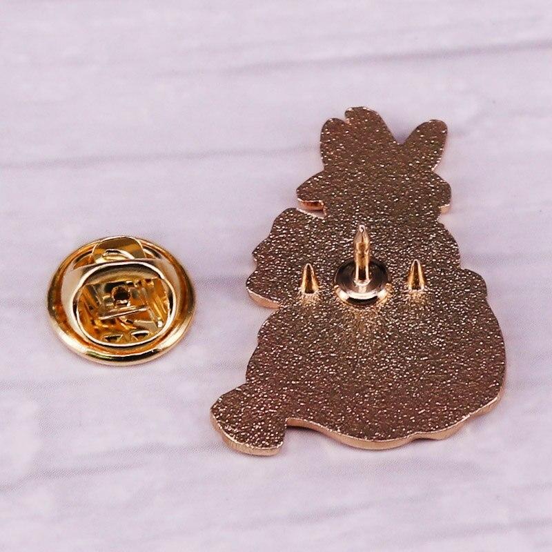 Bunny Witch Enamel Pin